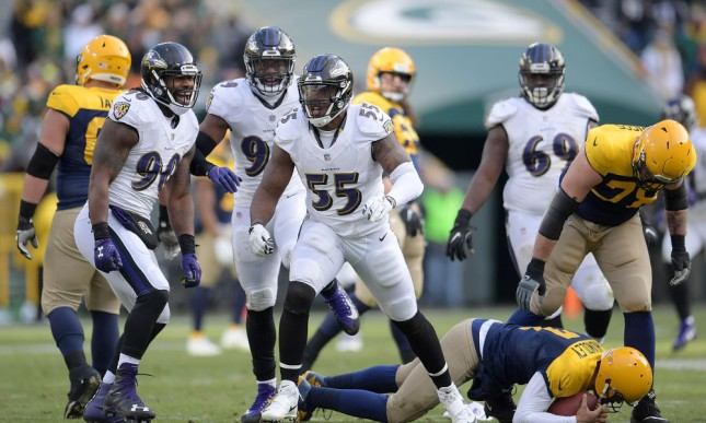 Baltimore Ravens v Green Bay Packers