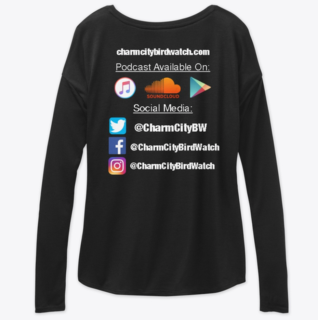 Black Women's Long Sleeve Back