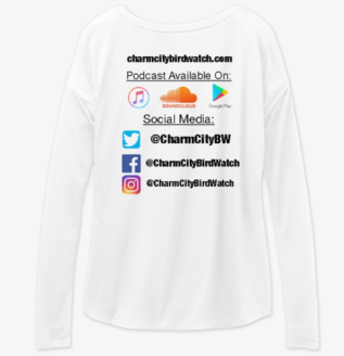 White Women's Long Sleeve Back
